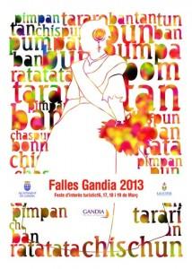 Fallas en Gandía 2013