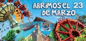 Apertura Terra Mítica 2013