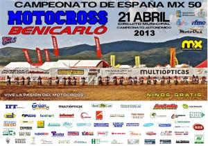 Campeonato de motocross en Benidcarló 2013