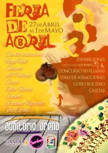 Feria de abril en Gandía