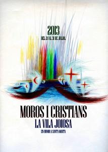 Moros y Cristianos en vila joiosa julio 2013