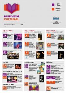 Actividades verano 2013 en Benidorm