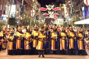 fiestas de mros y cristianos en benidorm 20013