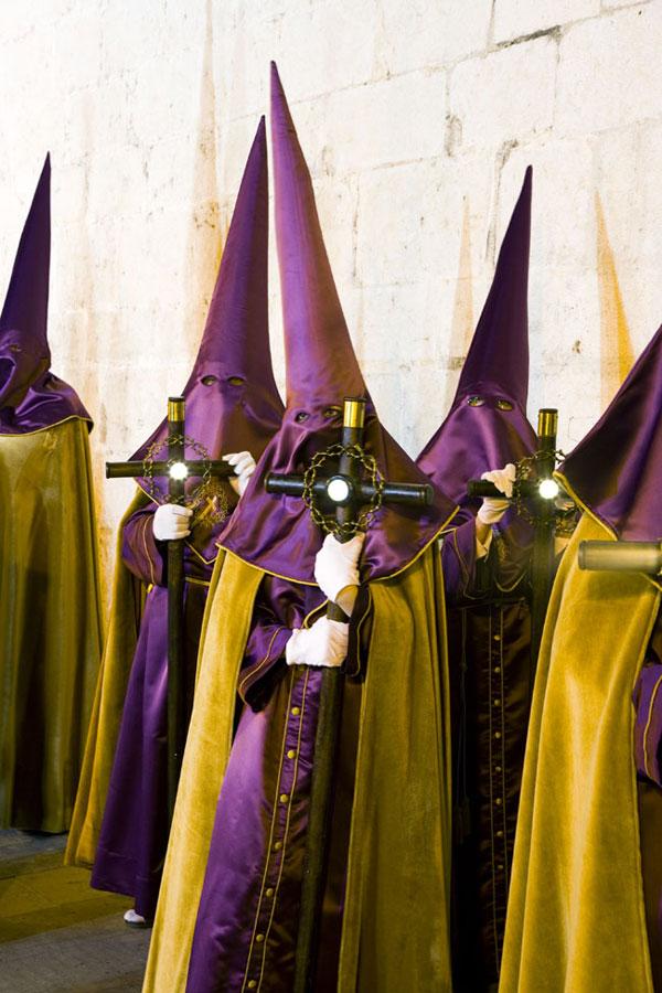 disfraz de los capuchinos en semana santa