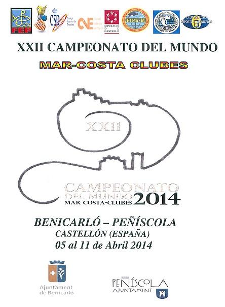 cartel de campeonato de pesca en peñiscola y benicarlo