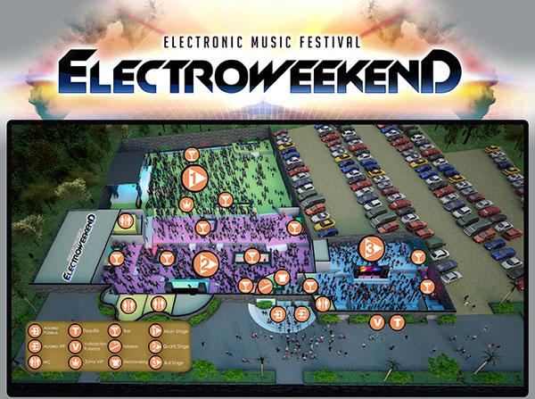plano de electro weekend benidorm 2014