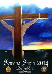 cartel oficial de semana santa en benidorm