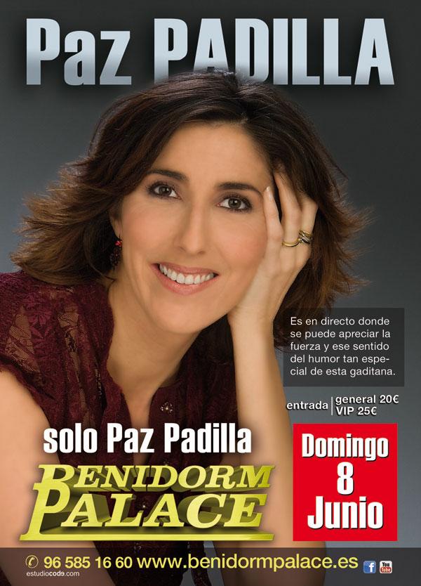 Paz Padilla en benidorm palace junio 2014
