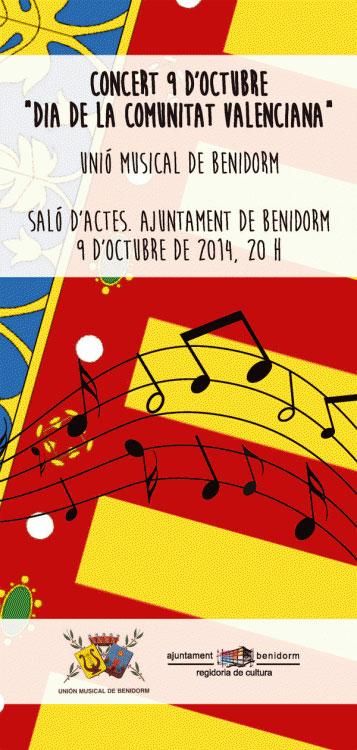 celebracion 9 de octubre benidorm