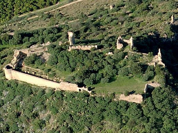 castillo de bayren en gandia