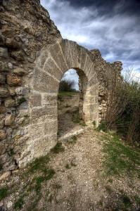 castillo de bayren gandia en ruinas