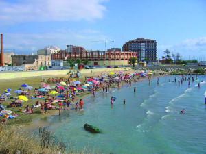 playa del clot en vinaros