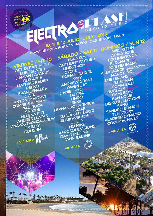 cartel electrosplash 2015