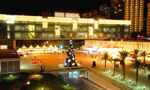 Plaza navidad Benidorm