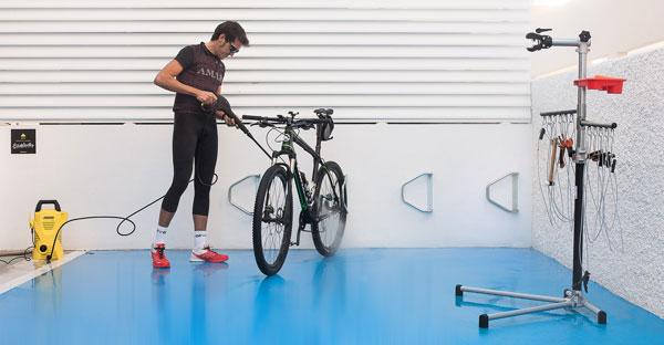 taller bicicleta hotel bayren