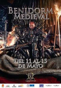 cartel benidorm medieval 2016