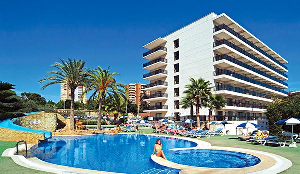 hotel rh corona del mar en benidorm