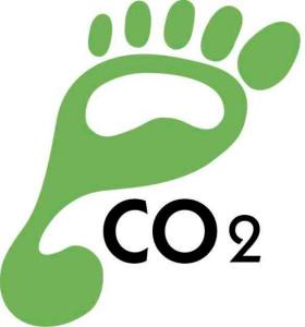 simbolo huella de carbono
