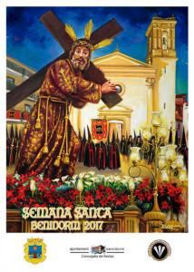 cartel semana santa benidorm