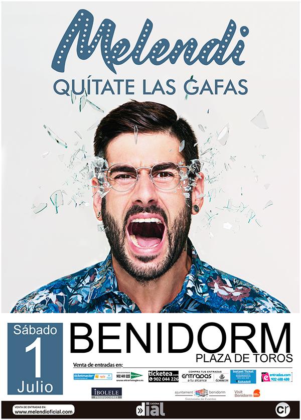 concierto melendi benidorm 2017