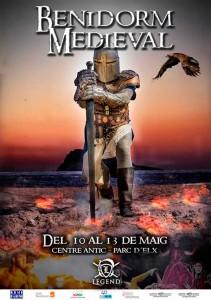 mercadillo medieval benidorm