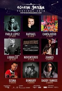conciertos escena gandia 2018