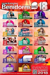 conciertos benidorm 2018