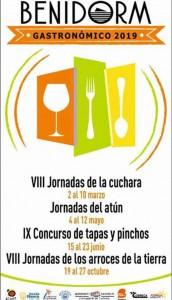 calendario eventos gastronomicos benidorm