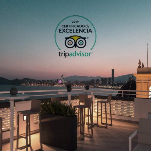 gastrohotel canfali certificado excelencia 2019