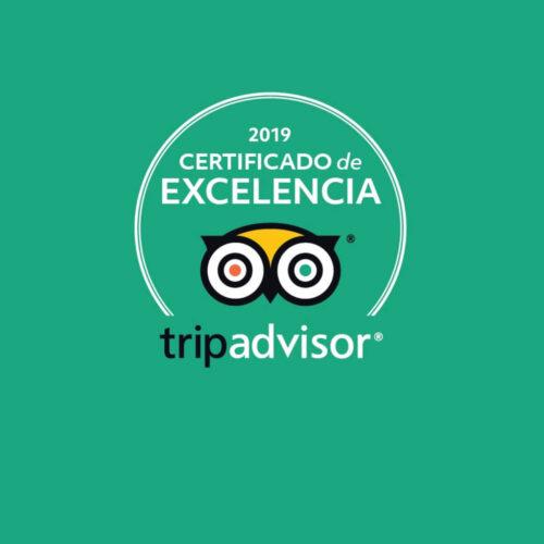 certificado excelencia trip advisor hoteles rh 2019