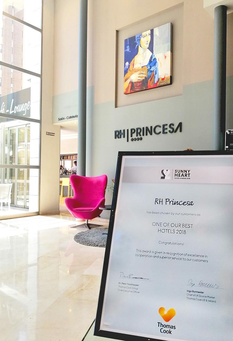 Premio Thomas Cook Hotel RH Princesa