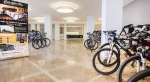 Instalaciones ciclistas Hotel RH Bayren & Spa