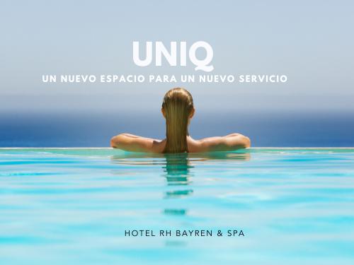 Piscina infinity de UNIQ en el Hotel RH Bayren & Spa de Gandía